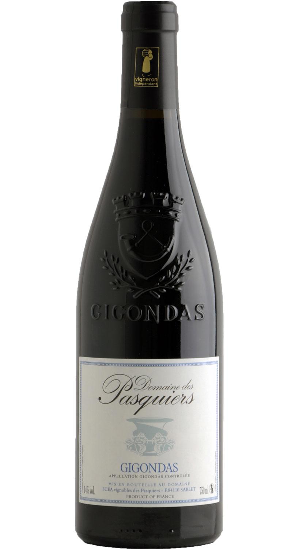 domaine des pasquiers wines gigondas red