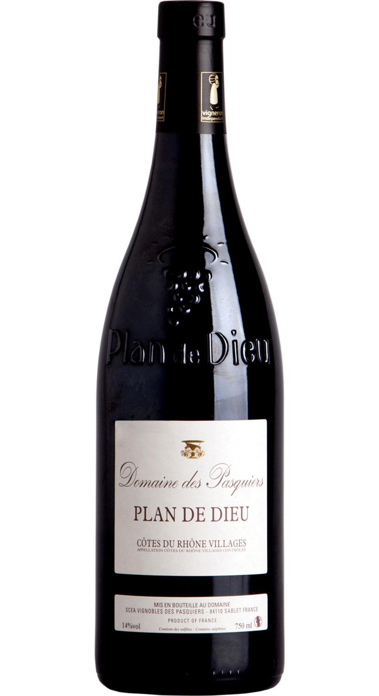 domaine des pasquiers wines plan de dieu red