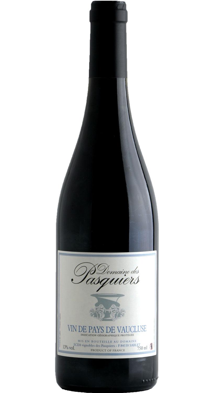 domaine des pasquiers wines vin de pays de vaucluse red