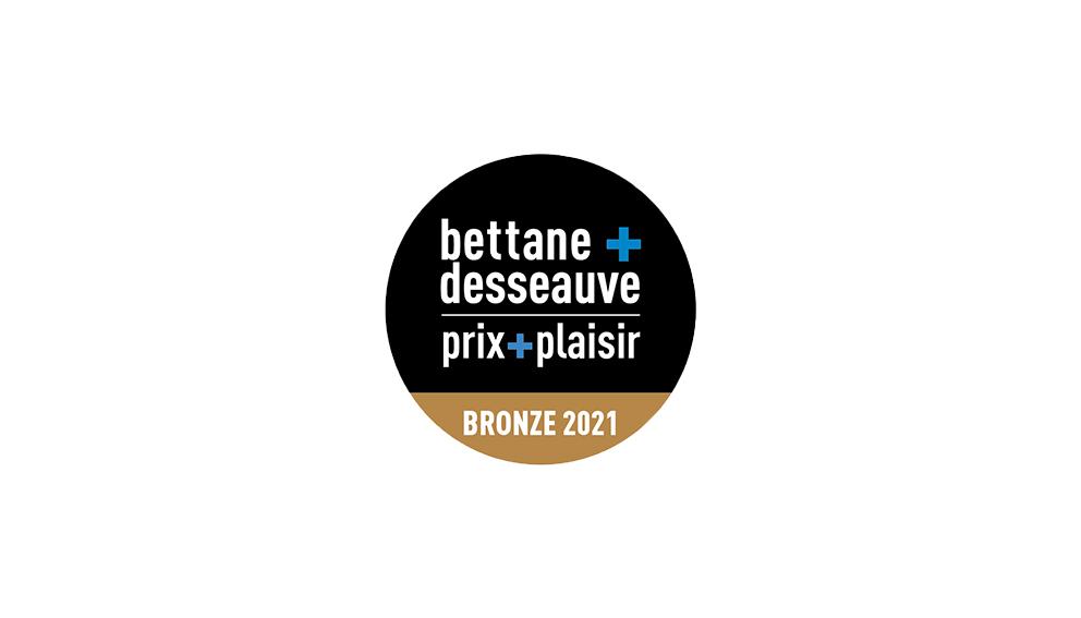 concours prix plaisir médaille de bronze 2021
